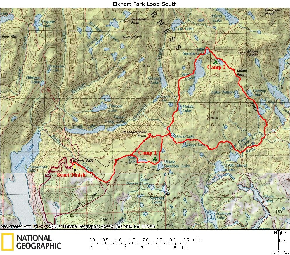 Wind River Range Wyoming Map.I Could Totally Do This In Wyoming Wind River Range 26 Mile Loop