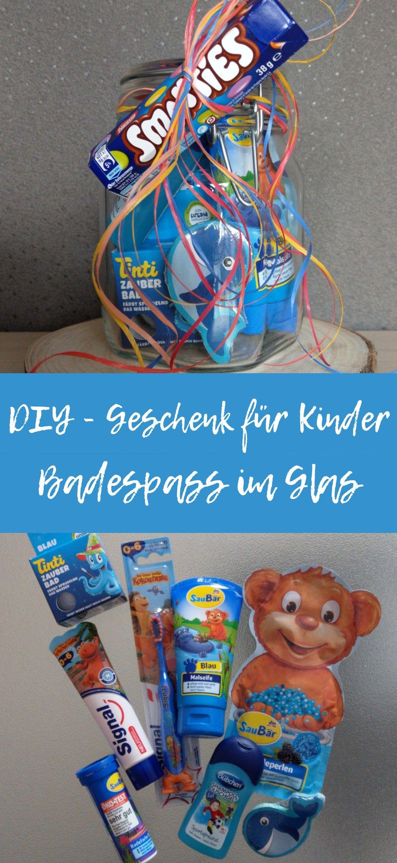 DIY Badespass im Glas für Kids