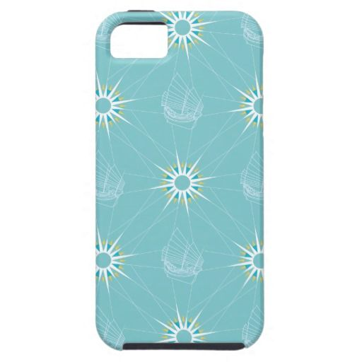 Sailing Pattern iPhone 5 Case