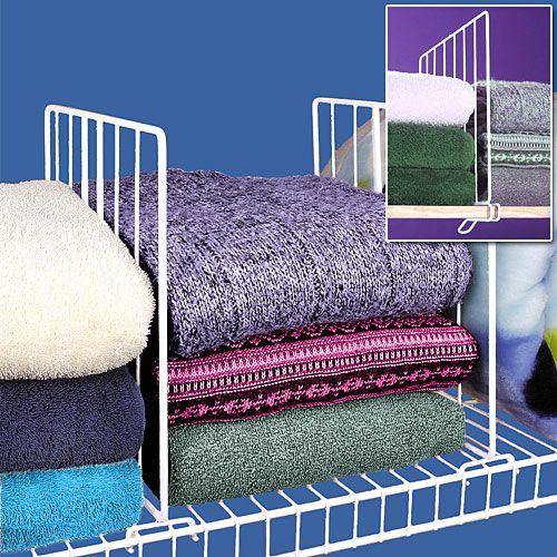 Attractive Wire Closets   Featured Product: Wire Shelf Dividers