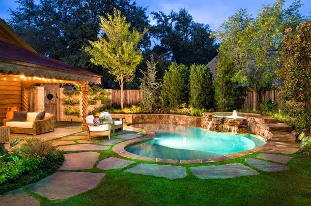 Backyard Landscaping Plans Photo Inspiration Life On Virginia Street Small Backyard Pools Small Pool Design Backyard Pool