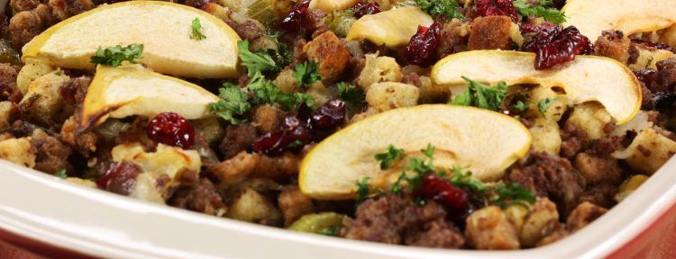 Camilla consuelos sausage apple stuffing live with