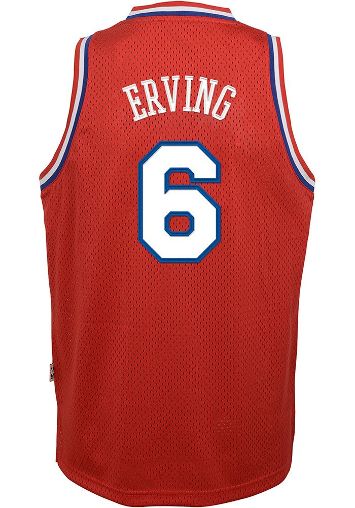 huge selection of c3842 83514 Julius Erving Outer Stuff Philadelphia 76ers Youth 82-83 ...