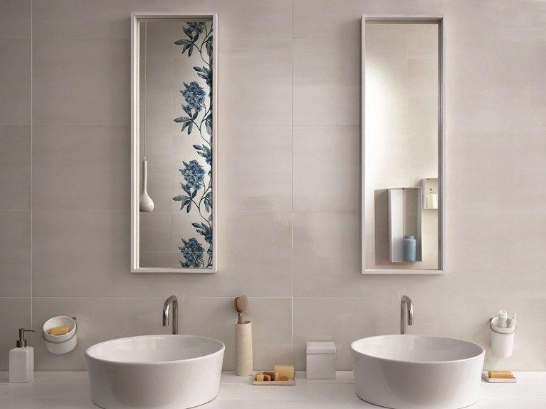 Interni bagno ~ Rivestimento in ceramica a pasta bianca imperfetto by marazzi