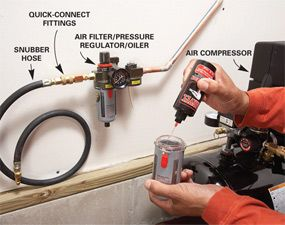 Air Hoses Install A Retractable Air Hose Reel Air Hose Reel Air Hose Air Compressor
