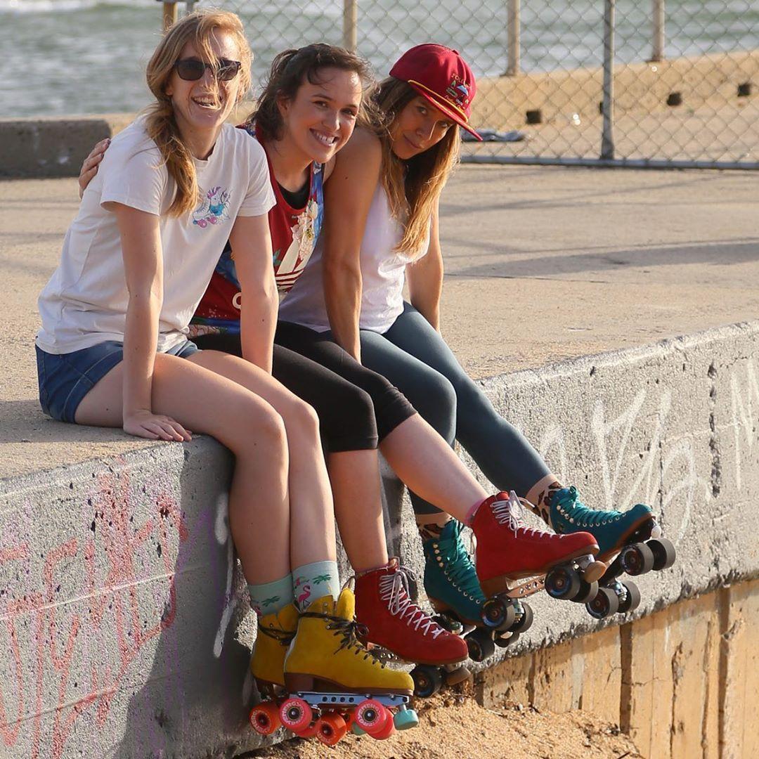 Impala Quad Skate Black Black Roller Skates Retro Roller Skates Roller Skaters