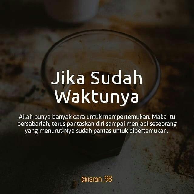 Waktu Yg Tepat Dengan Gambar Islamic Quotes Kata Kata Alkitab