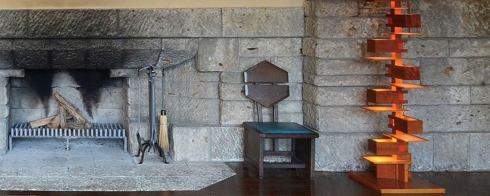 Taliesin 2 floor lamp, Yamagiwa. Frank Lloyd Wright. | Lighting ...