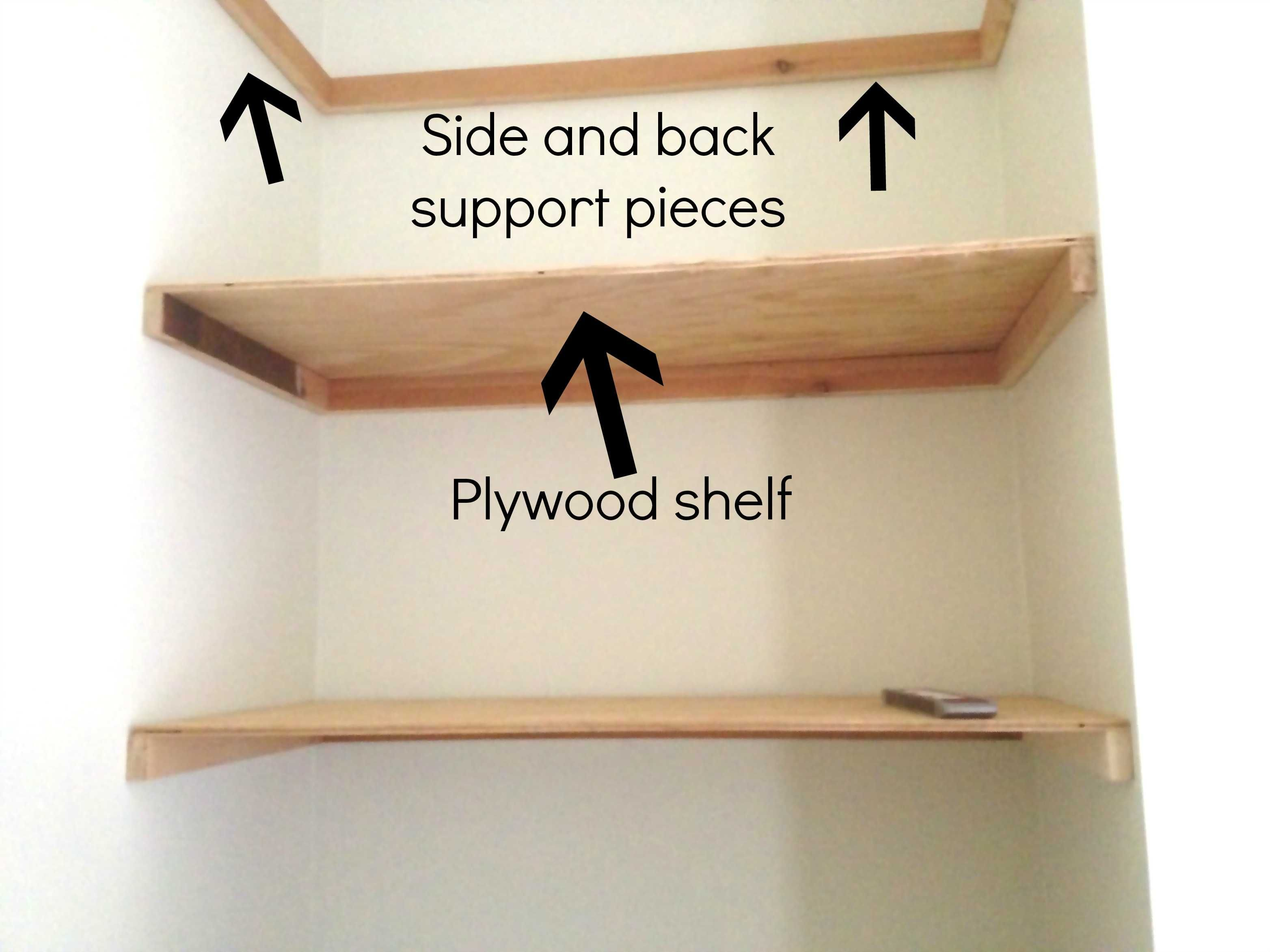 DIY Floating Shelves {Joeu0027s Corner Debut
