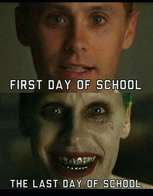 joker, school, and jared leto image