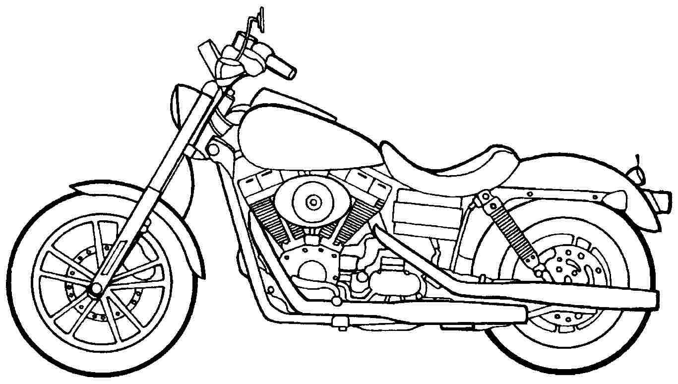 101 Transportation Motorcycle Coloring Pages Printable Jpg 1367 774 Amerikaanse Vlag Kleurplaten Vlag