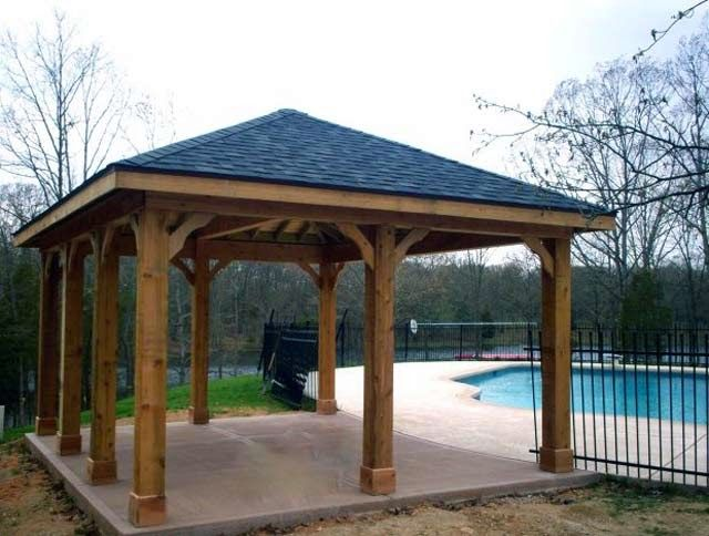 Ordinaire Wood Patio Cover Design Types