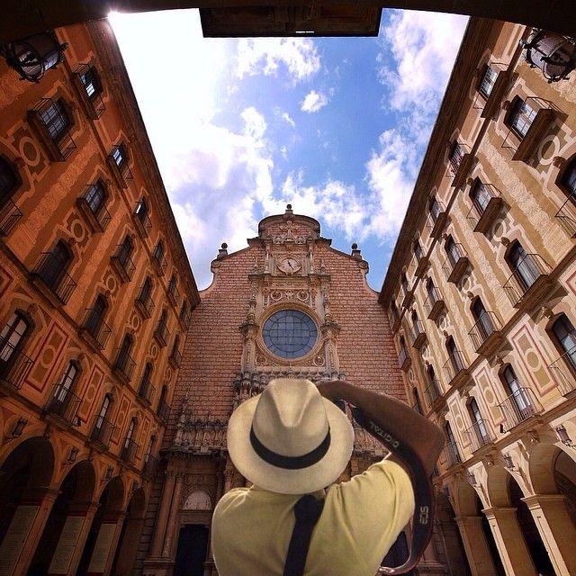 Abbey of Montserrat. Barcelona