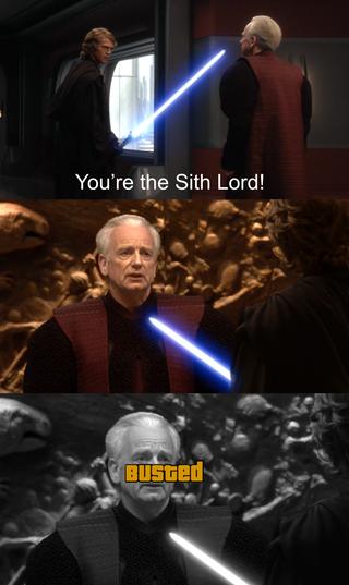 It S Treason Then Prequelmemes Funny Star Wars Memes Star Wars Facts Star Wars Humor
