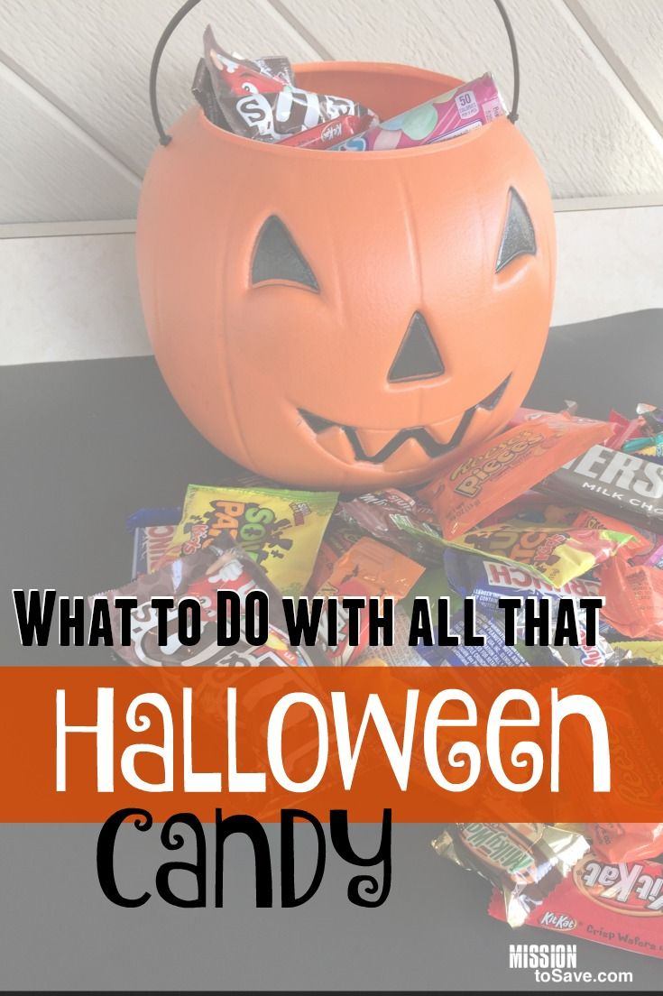 what to do with all that halloween candy | best of mission to save