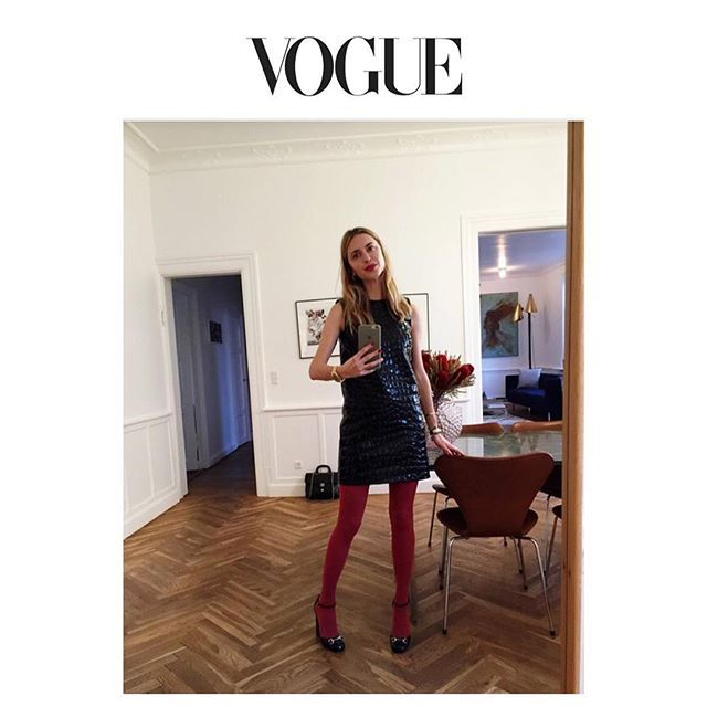 Better late then never Check out my New Years outfit feature now at vogue.com @voguerunway