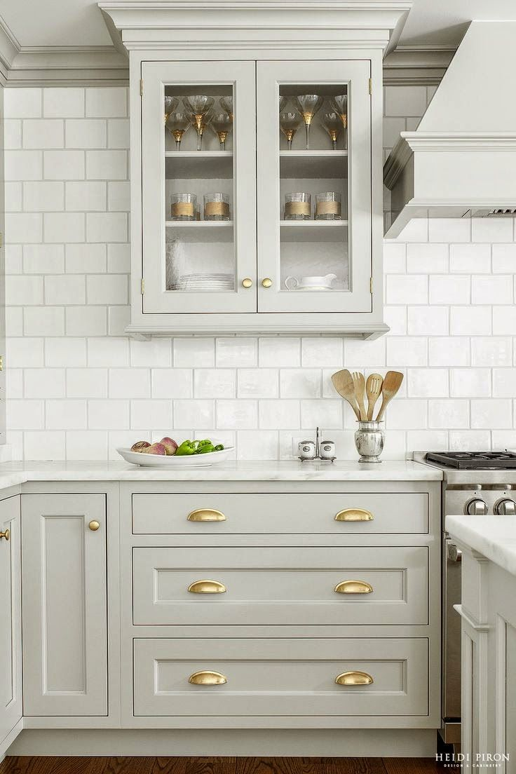 Pictures Of Grey Kitchen Cabinets