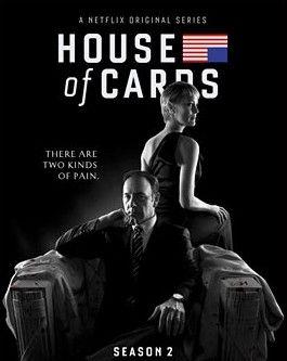 TV-sarja ohjaus David Fincher pääosissa Kevin Spacey ja Robin Wright.