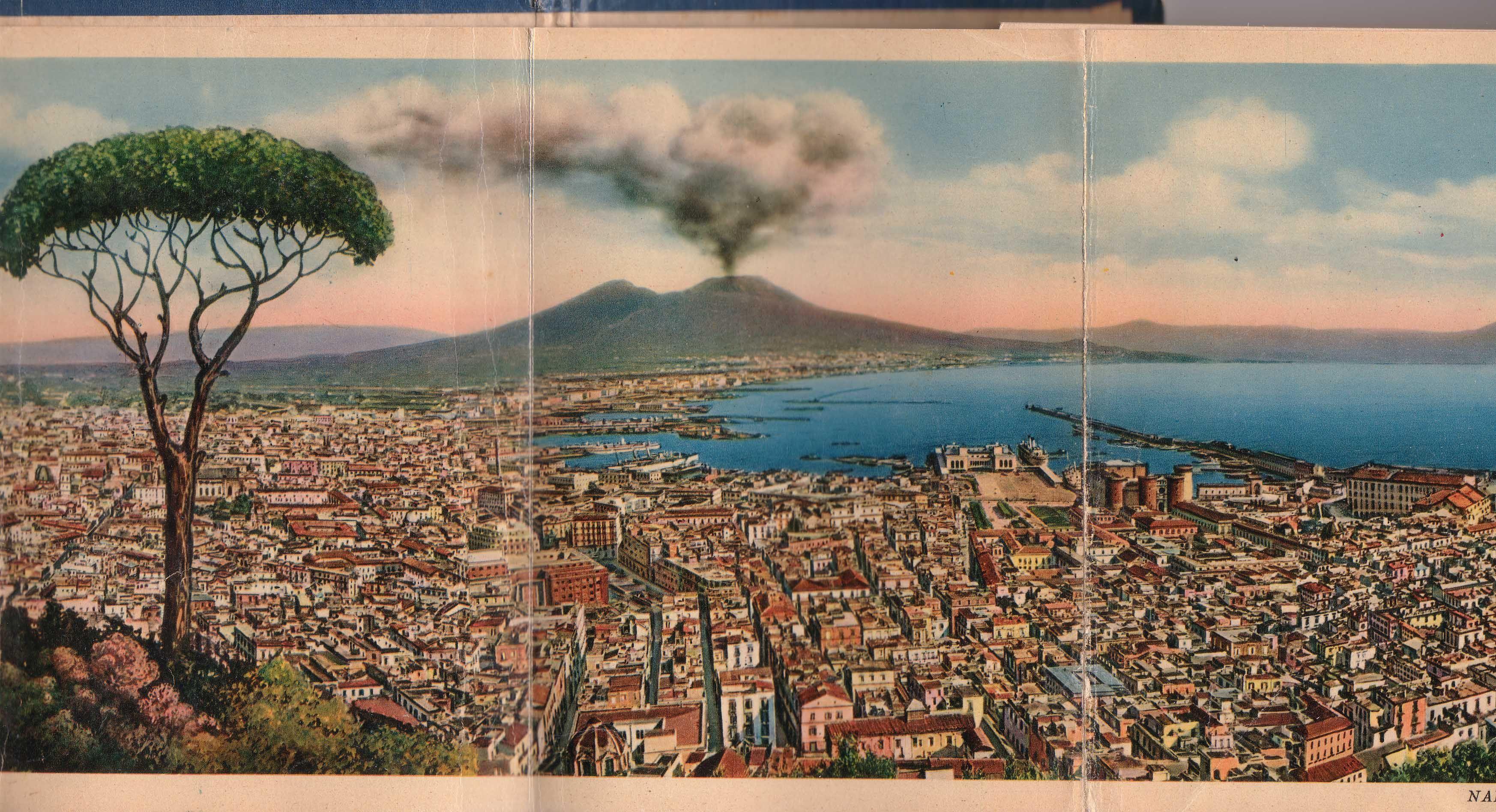 Old Postcard Naples #napoli