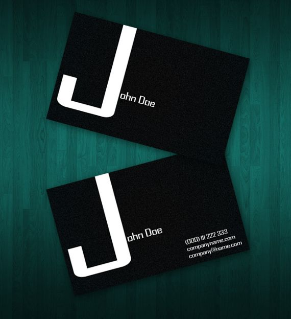 Two Sided Business Card Templates Free Diy Business - Dj business cards templates free