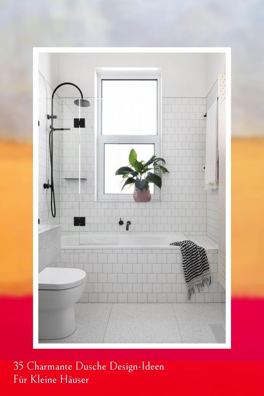35 Charmante Dusche Design Ideen Fur Kleine Hauser Round Mirror Bathroom Bathroom Mirror Home Decor