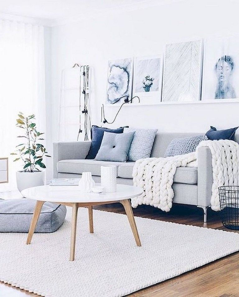 47 Lovely Summer Apartment Decor Ideas And Makeover Living Room Scandinavian Nordic Living Room Minimalist Living Room Summer living room decorating ideas