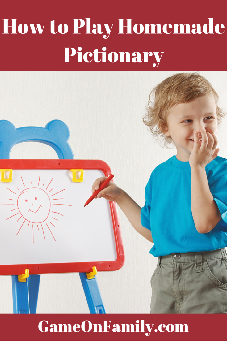 Learn how to play Pictionary! Great family game for the holidays. Go to www.gameonfamily.com to learn how to play homemade pictionary without having to buy ...