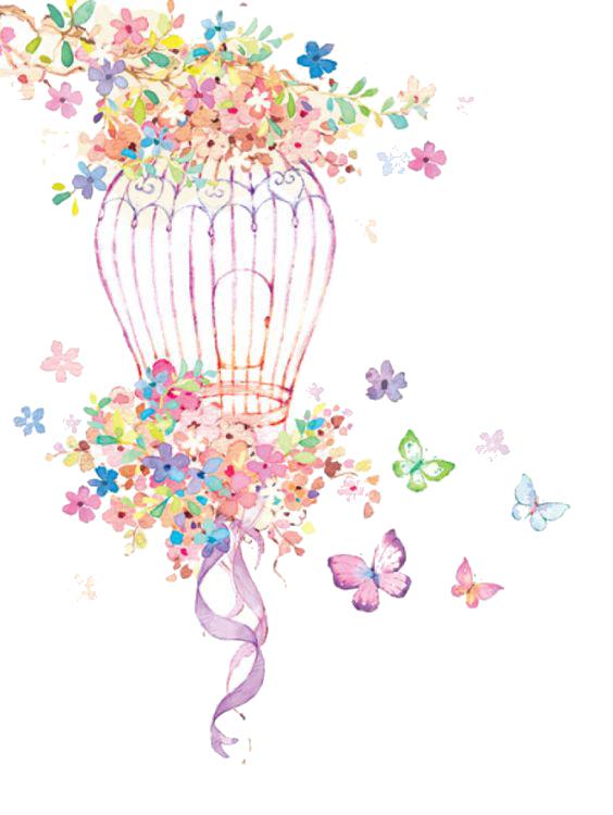 سكرابز ورود وفراشات بخلفيات شفافه2017 سكرابز براويز 3dlat Net 08 17 Af40 Floral Art Art Art Clipart