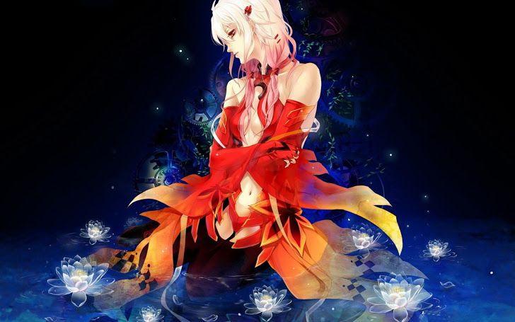 Inori Yuzuriha Red Dress