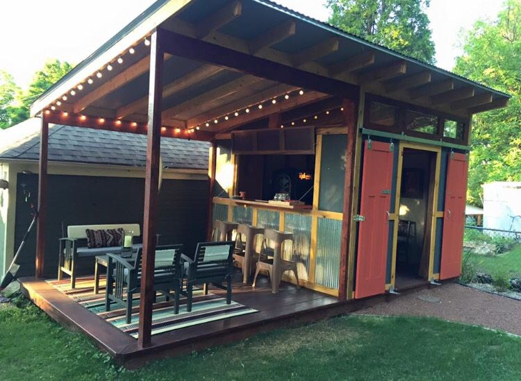 Dream Backyard Bar Backyard Gardening Gazebo Pinterest