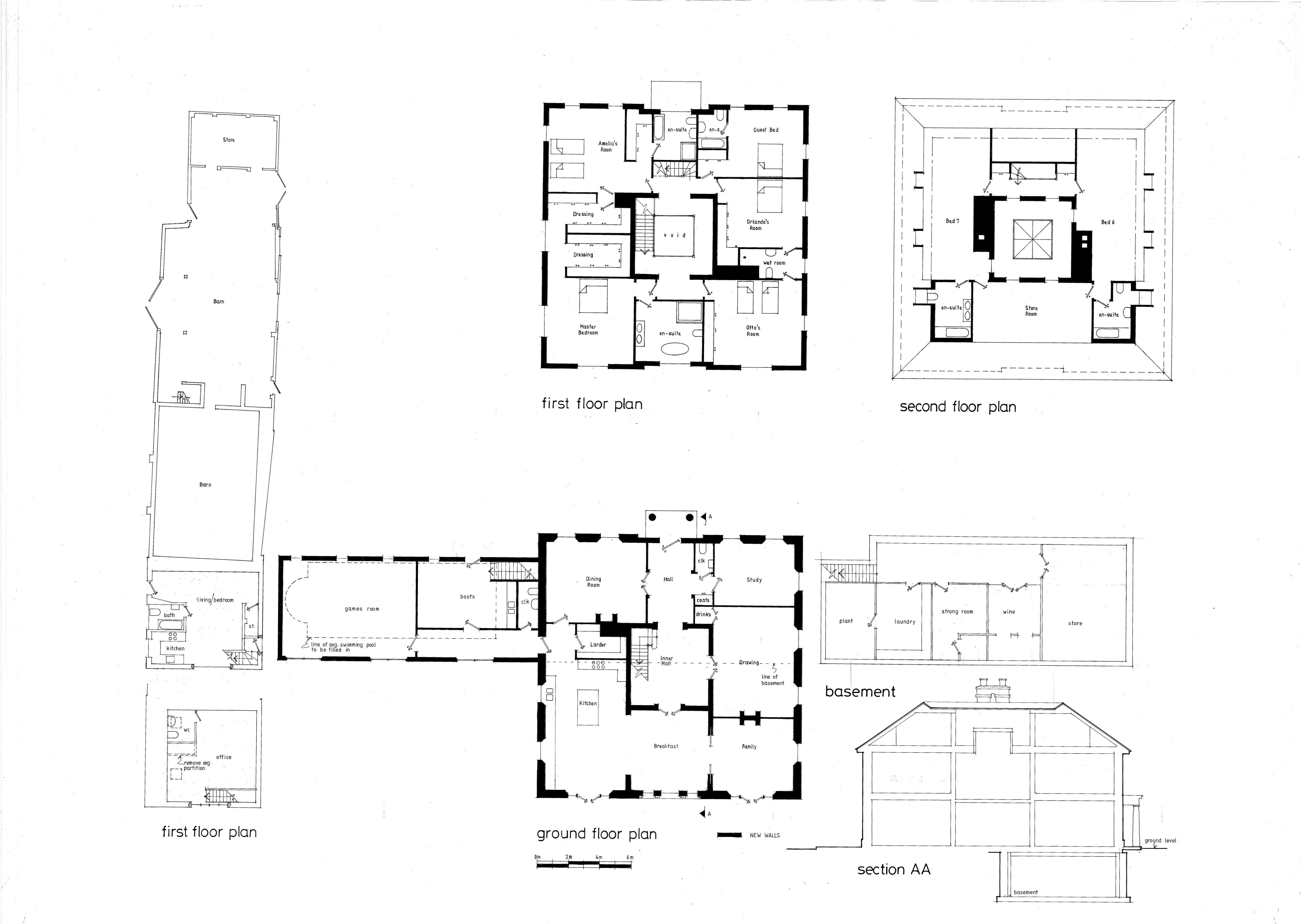 Balstone Farm House Balstone Farm Lane Ibworth Tadley Hampshire Rg26 5tj Www Basingstoke Gov Uk 13 021 Vintage House Plans House Floor Plans Floor Plans