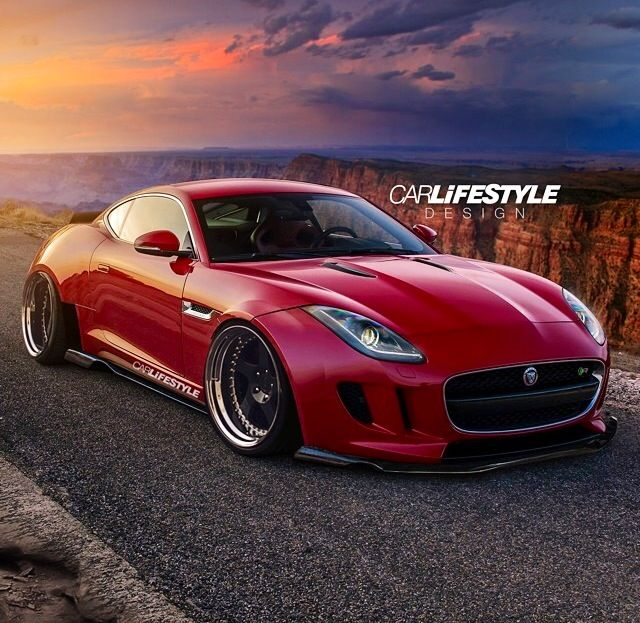Wide Body Jaguar F Type Render Carlifestyle Design