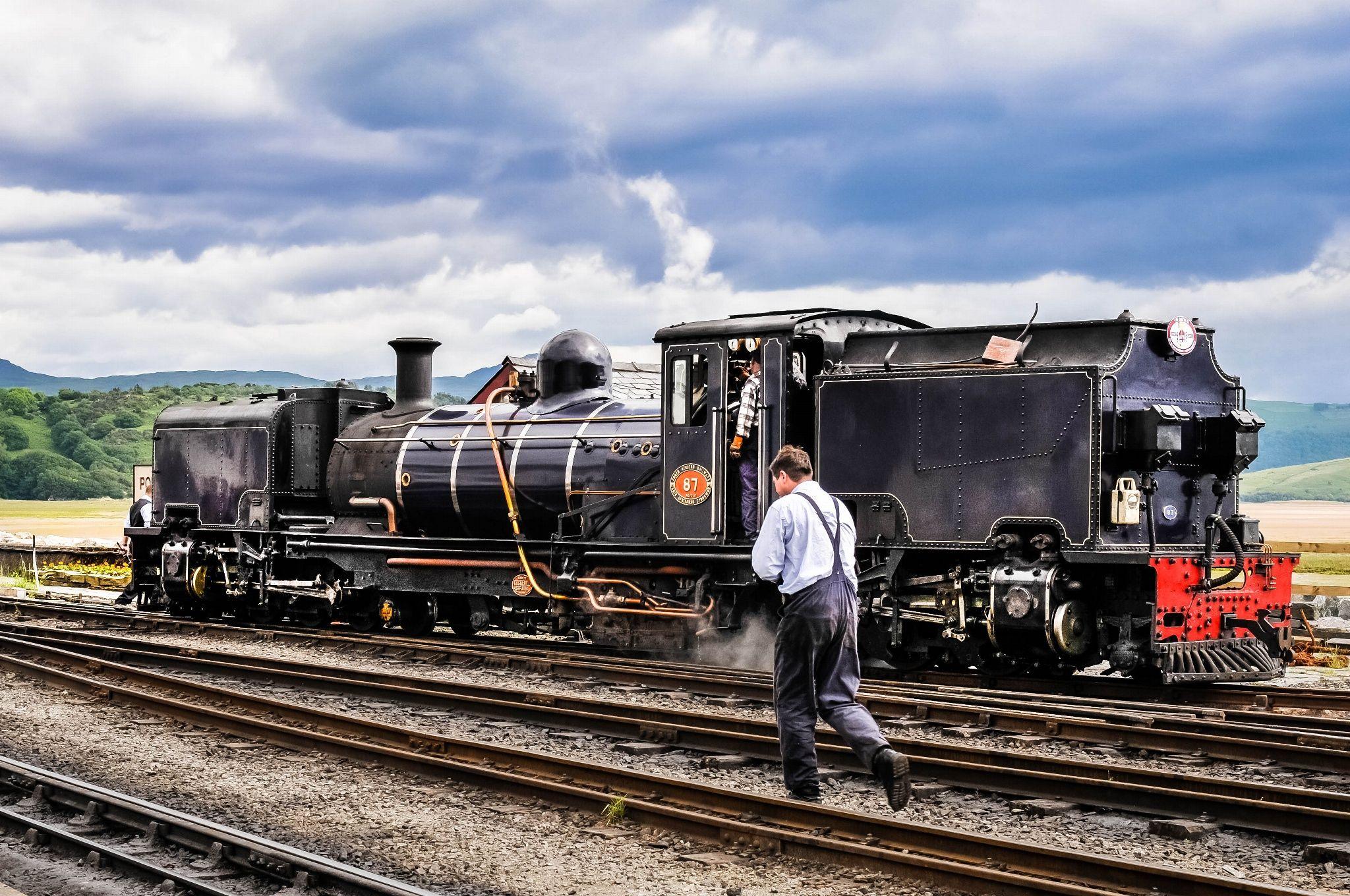 Welsh Highland Railway. Beyer-Garratt No.87.