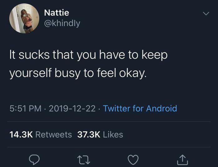 How I've been feeling lately