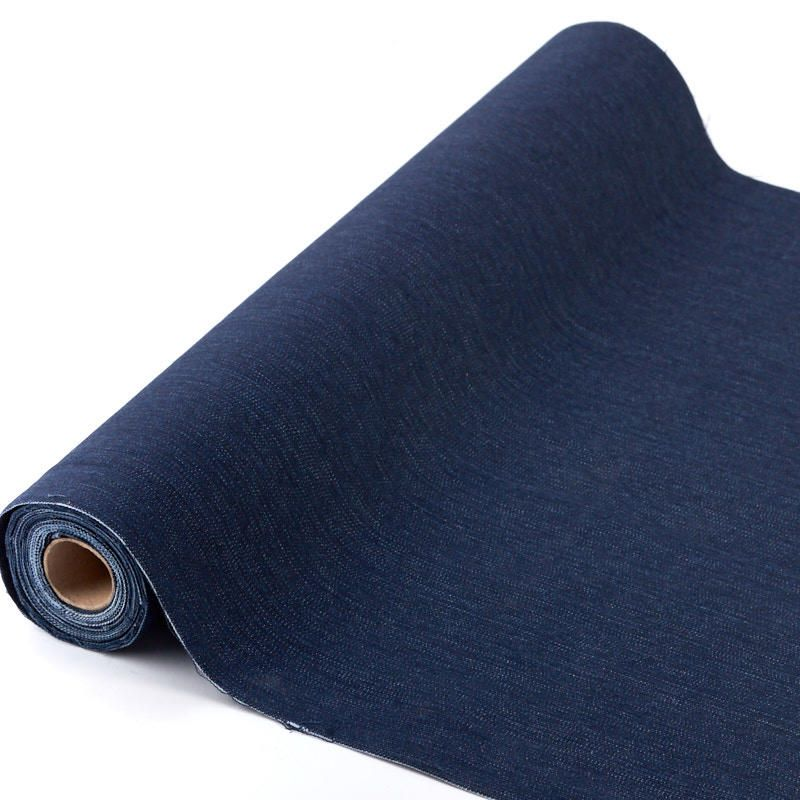 Denim Fabric Roll Fabric And Material Fabric Crafting Hobby