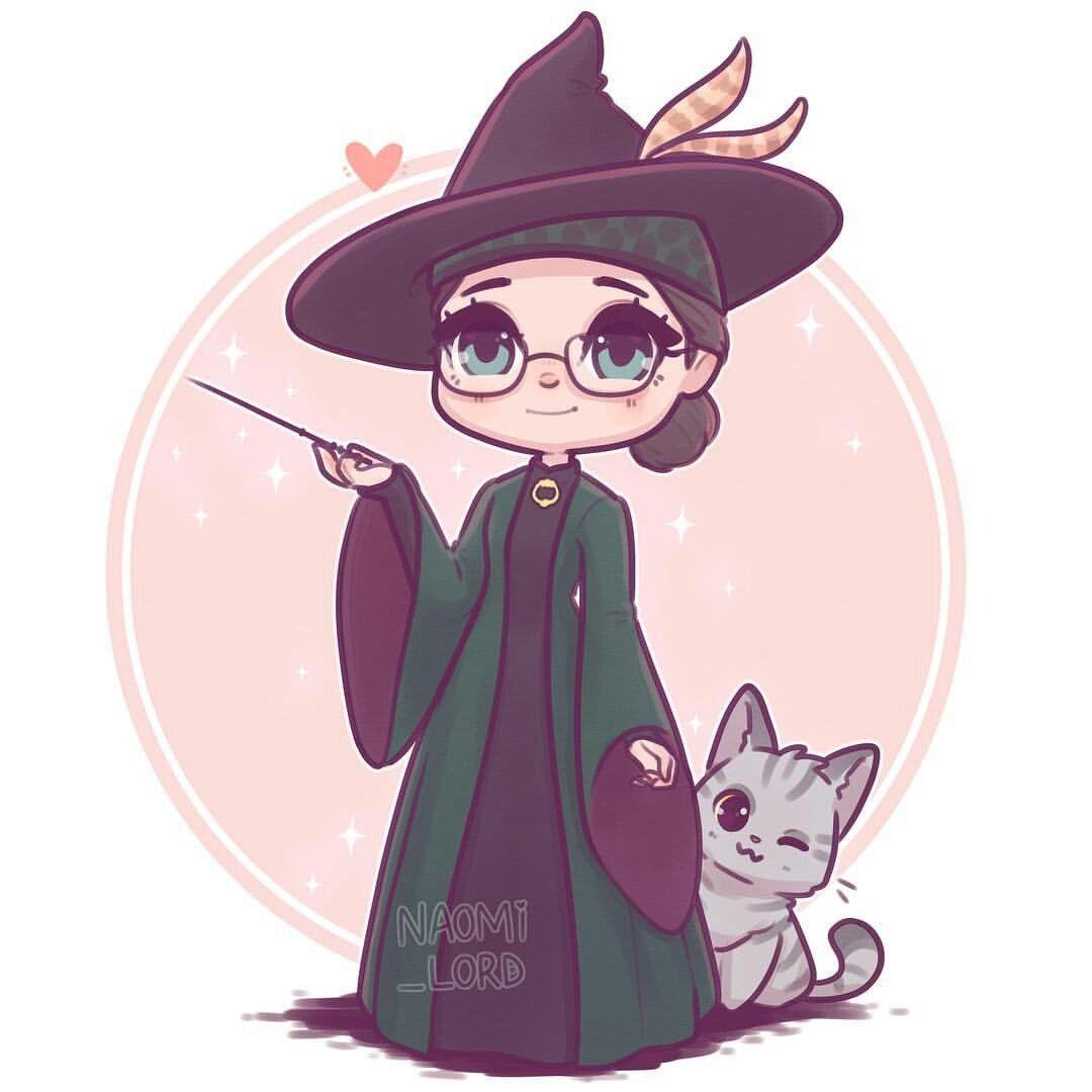 Professor McGonagall by Naomi Lord   Harry potter cartoon ...