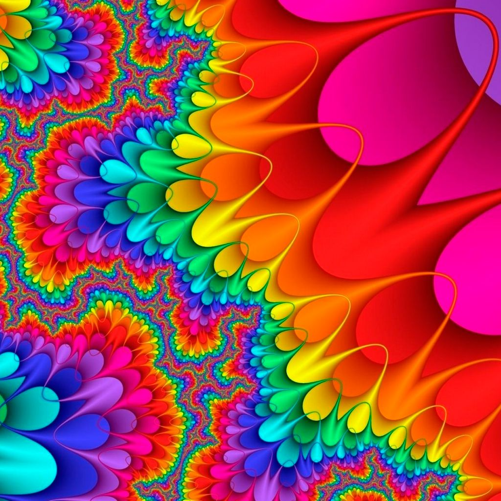 Image Detail For -Colorful IPad Wallpaper HD 1024x1024
