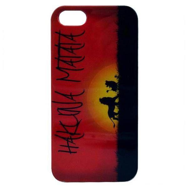 iPhone 5/5S Hakuna Matata TPU hoesje #telefoonhoesjes #hoesjes #hoesje #accessoire #phone #case #cases
