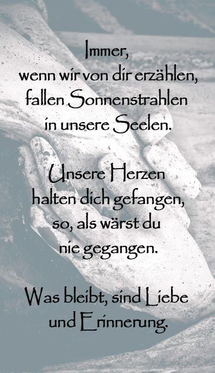 Trauervers für Trauerkerzen #Trauer #Trauerverse #Kondolenz ...