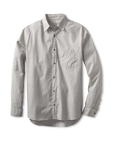 69% OFF Martin Gordon Men\'s Button-Up Shirt (Grey)