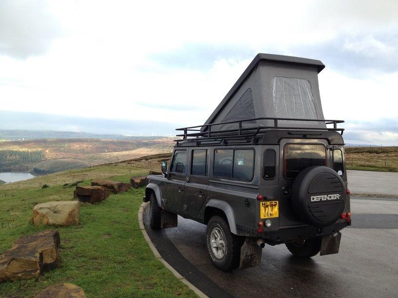 Example Of Defender Camper Land Rover Defender Campers Pinterest