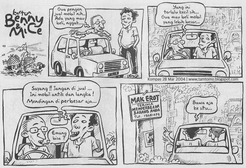 Kartun Benny Mice Edisi 28 Maret 2004 Edisi Mak Erot Kartun