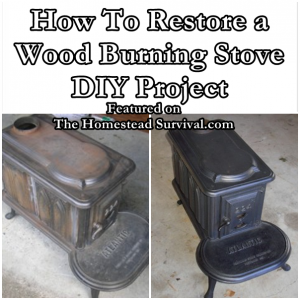 How To Restore A Wood Burning Stove DIY, Restoring a Wood Burning Stove