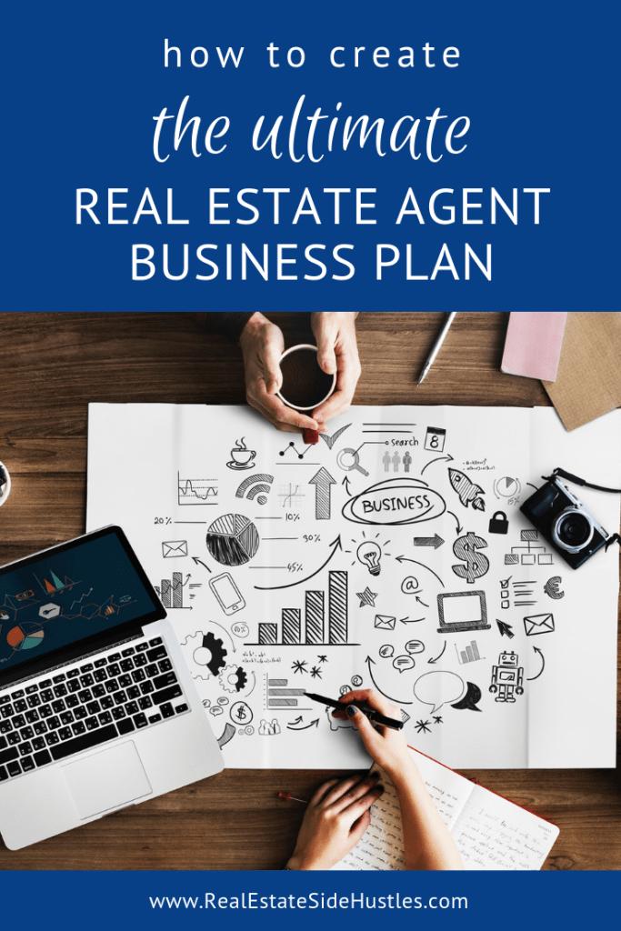 The Ultimate Real Estate Agent Business Plan - Real Estate Side Hustles #realestatetips