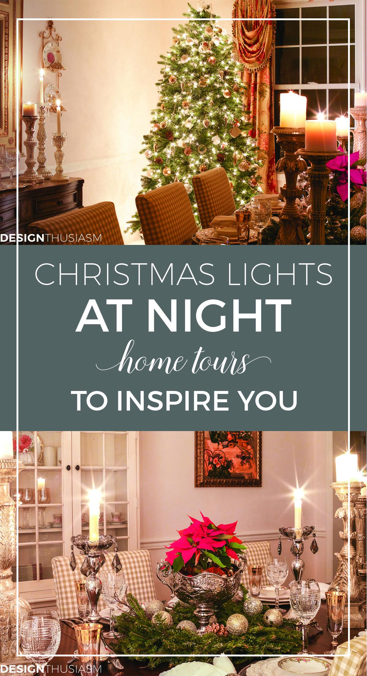 Night lights holiday - Christmas Night Lights Holiday Homes At Night Blog Tour