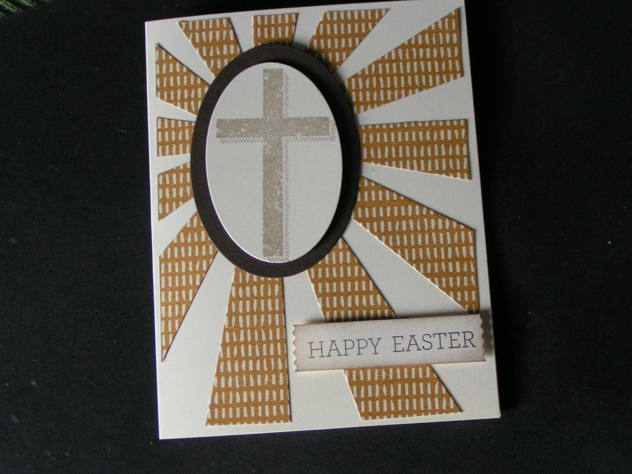 Stampin' Kat: Another Cross and More Easter Sentiments......