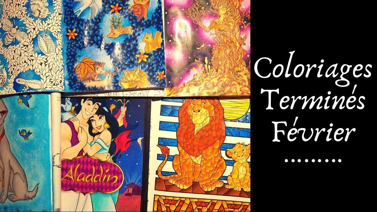 Coloriages Terminés  Février 23 - YouTube  Coloriage