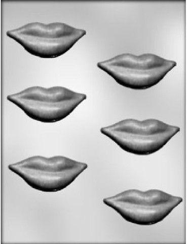 90-1658 Lips Chocolate Candy Mold – Preegle.com