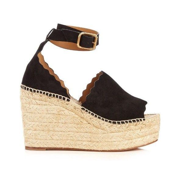 Lauren platform sandals - Black Chloé Lba2Y39u