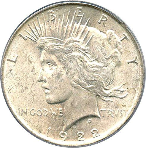 1922-P Peace Dollar PCGS MS63